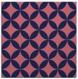 rug #251877 | square pink rug