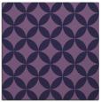 rug #251881 | square purple circles rug