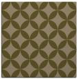 rug #251905 | square brown circles rug