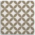 rug #251925 | square mid-brown rug