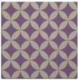 rug #251965 | square purple circles rug