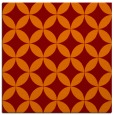 rug #251973 | square orange circles rug