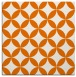 rug #251977 | square orange circles rug