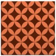 rug #251985 | square orange circles rug