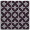 rug #252021 | square purple circles rug