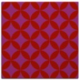 rug #252037   square red circles rug