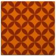 rug #252041   square red-orange popular rug