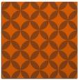 rug #252049   square red-orange circles rug