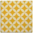 rug #252073   square yellow rug