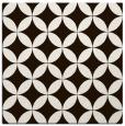 rug #252081 | square brown circles rug