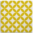 rug #252085 | square yellow circles rug