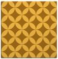 rug #252089 | square yellow circles rug