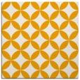 rug #252121 | square light-orange circles rug