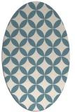 rug #252162   oval circles rug