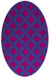 rug #252239 | oval circles rug
