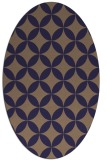 rug #252245 | oval beige traditional rug