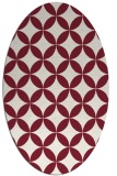 rug #252349 | oval traditional rug