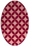 rug #252355   oval circles rug