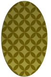 rug #252457 | oval light-green rug