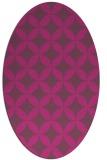 rug #252468 | oval traditional rug