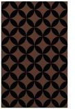 rug #252505    brown circles rug