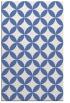 rug #252529 |  blue circles rug