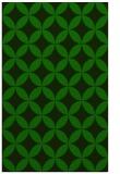 rug #252557 |  green circles rug
