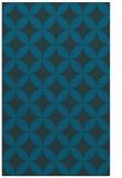 rug #252569 |  blue circles rug