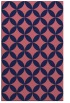 rug #252581 |  blue-violet traditional rug