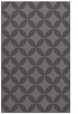 rug #252637 |  mid-brown circles rug