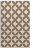 rug #252641 |  beige circles rug