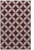 rug #252645 |  pink circles rug