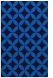 rug #252657 |  blue circles rug
