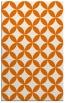 rug #252681 |  orange circles rug