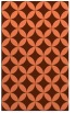 rug #252689 |  red-orange circles rug