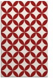 rug #252737 |  red circles rug