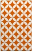 rug #252757 |  red-orange geometry rug