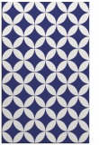 rug #252769 |  blue circles rug