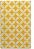 rug #252777 |  yellow circles rug