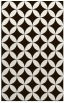 rug #252785 |  brown circles rug