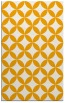 rug #252825 |  light-orange circles rug