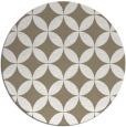 rug #252841 | round beige rug