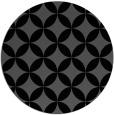 rug #252849   round black circles rug