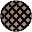 rug #252853 | round beige geometry rug