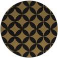 rug #252861 | round black geometry rug