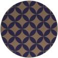 rug #252949 | round blue-violet rug