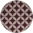 rug #252997   round pink traditional rug