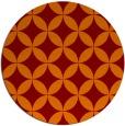rug #253029 | round orange circles rug
