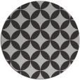 rug #253041 | round red-orange popular rug