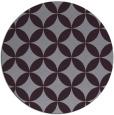 rug #253077   round purple circles rug